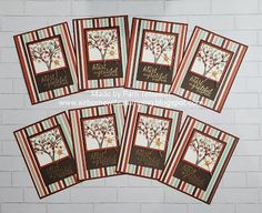 """airbornewife's stamping spot: October Sheetload of Cards """"My Heart is Grateful for You"""" cards #showusyoursheetload One Sheet Wonder, Grateful For You, Cool Sketches, Some Cards, Fall Cards, Happy Mail, Embossing Folder, Happy Sunday, Pattern Paper"""