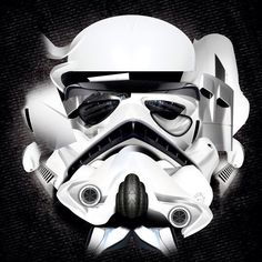 #Stormtrooper #starwars #abstract by MiZAl Touch