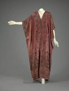 Caftan Mariano Fortuny, 1920s The Indianapolis Museum of Design
