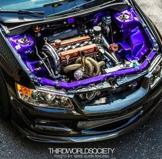 Evo 9 perfect engine bay