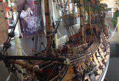 El Nuestra Señora de Guadalupe, un navío de 50 cañones, fue construido en un astillero de México en 1702