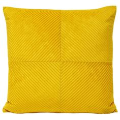 Infinity Geometric Cushion Cover, Honey Yellow