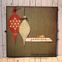 Lindas papercrafting Advent Calendar, Paper Crafts, Christmas Ornaments, Holiday Decor, Cards, Home Decor, Cute, Decoration Home, Tissue Paper Crafts