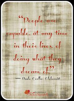 The Adventures of Miss ChuchuBells: Paulo Coelho, The Alchemist Quotes