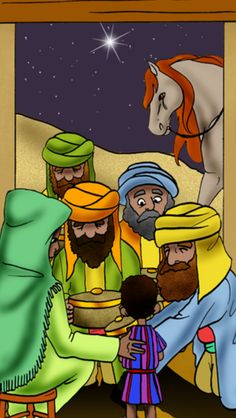 """""""When they saw the star, they were overjoyed. Upon entering the house, they saw the child with his mother Miryam; and they prostrated themselves and worshipped him. Then they opened their bags and presented him gifts of gold, frankincense and myrrh. But they had been warned in a dream not to return to Herod, so they took another route back to their own country."""" (Mat 2:10-12)"""