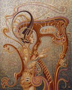 "Saatchi Art Artist Boris Indrikov; Painting, ""E O L A"" #art"