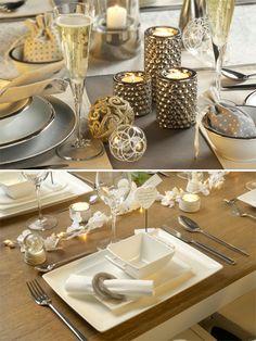 christmas tavola delle feste stile shabby chic, nordico soft country | StyleNotes - Appunti di Stile
