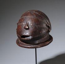 "Anthropomorphic helmet mask ""musangwe"", D. R. Congo, Tabwa"