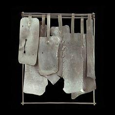 Fabiana Gadano  Brooch: Refugios 1 2007  Sterling silver  8,5 x 9,5 x 1 cm
