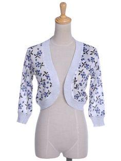 $19.90 nice Anna-Kaci Women's Delight Divinity Leaves Long Sleeve Cardigan