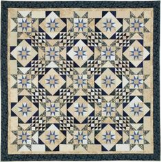 ePATTERN (free), Quilt - 'Blue Moon' by Charlotte Angotti / via The Quilting Company