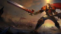 Big warrior Garen