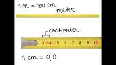 Lengtematen 1 -- Meter en centimeter