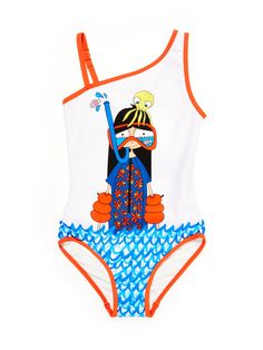 Little Marc Jacobs Snorkeling Miss Marc One Piece