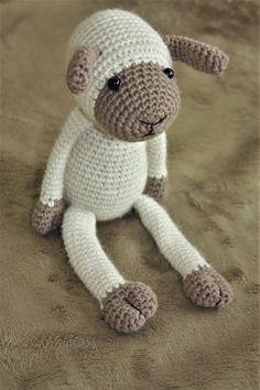 PATTERN Lexie Lamb Amigurumi Pattern Sheep Crochet PDF