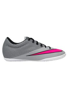 buy popular c4843 da8d5 Nike Men s Mercurialx Pro IC Wolf Grey Hyper Pink Blk White Indoor Soccer  Shoe 10 Men US