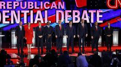 """As Republican candidates vowed to expand the wars in the Middle East, professor Stephen Zunes looks at how most of the candidates ignored how the U.S. invasion of Iraq helped create what became the self-proclaimed Islamic State. """"There was a testosterone display put on by men who clearly have little knowledge of the Middle East and the origins of extremism,"""" Zunes said of the debate."""