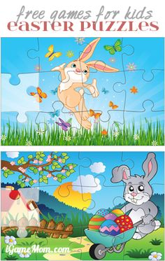Free Easter Puzzle Game for Kids #kidsapps #FreeApps