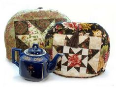 Sewing a traditional tea cosy