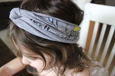 DIY no sew headband/turban for free!