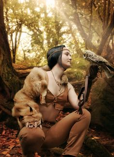 Look At Me! by MachiavelliCro #fur #coat #owl