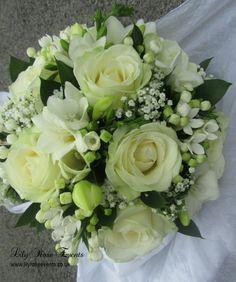 Creams and greens, spring wedding ideas