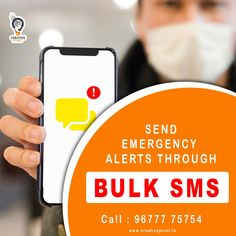 Restarting & Rebranding a business is now becoming a difficult thing in this Corona pandemic days. We are providing the quality & effective bulk sms service at affordable price to enhance your business opportunities. Bulk SMS service is not only using for the business enhancements, we can also use it for sending some emergency alerts in this pandemic through SMS.   For more details: Call us now: 96777 75754  #bulksms #bulksmsservice #covid19 #coronavirus #coronapandemic #mobilemarketing #sms Mobile Marketing, Internet Marketing, Online Marketing, Social Media Marketing, Friendship Sms, Funny Sms, Love Sms, Best Digital Marketing Company, Coimbatore