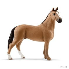 Buy Schleich: Hanoverian Gelding at Mighty Ape NZ. Hanoverians are exceptional show horses that have won over 48 Olympic gold medals. Hanoverians are exceptional show horses that have won over 48 Olym. Schleich Horses Stable, Dressage Horses, Horse Stables, Figurine Schleich, Bryer Horses, Shetland, Horses For Sale, Show Horses, Beautiful Horses