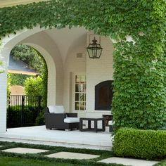 Outdoor Rooms, Outdoor Living, Outdoor Decor, Style At Home, Landscape Lighting Design, Design Exterior, Patio Design, Garden Design, World Of Interiors