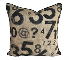 Counting Down  Screen printed distressed by JulieAlvesDesigns, $44.00