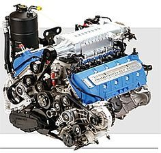 The Most Powerful Engines: Ford The Shelby GT500 engine was said to be the most powerful V-8 engine in the world, at one time.