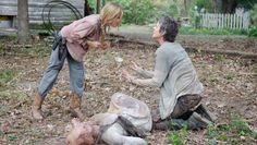 images of Carol threating pete on the walking dead | The Walking Dead's' Most Shocking Deaths (Photos)