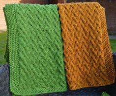 (6) Name: 'Knitting : In the Garden ~ Baby Blanket