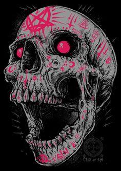 SKULLS - Image of Godmachine Skull Poster