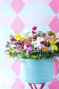Ranonkel Ranunculus Bloemen Flowers Boeket