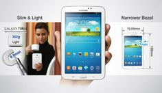 Samsung Galaxy Tab 3 Android 4.1 Tablet + Case £91.99