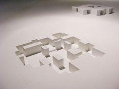 아예 이런 지하 Architecture Biennale 2010 Negatives models by Aires Mateus Architecture Design, Conceptual Architecture, Architecture Models, 3d Modelle, Arch Model, Negative Space, Design Process, Drawings, Modeling