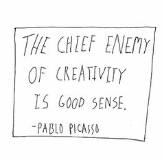 9.5 - The chief enemy... Pablo Picasso