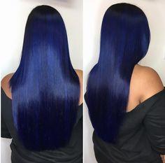 Fierce blue by @hairbylatise - https://blackhairinformation.com/hairstyle-gallery/fierce-blue-hairbylatise/