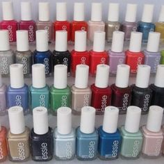 New Essie Nail Polish Lovely Lot Of 10 Essie Nail Polish 0 5 Fl Oz Full Size Bottles. Essie Nail Polish Colors, Nail Polish Hacks, Nail Polish Bottles, Nail Polish Sets, Essie Gel, Natural Nail Polish, Cute Nail Designs, French Nails, Manicure And Pedicure