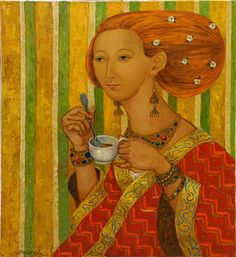 Art Paintings, Painted Canvas, Painting Art, Art Drawings
