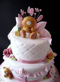ForeverFriends teddy bear cake