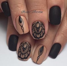 Nail design here! Photos ♥ ♥ ♥ Video Lessons manicure | VK