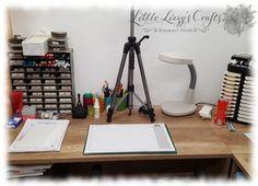 Studio, Desk, Crafts, Furniture, Home Decor, Desktop, Manualidades, Decoration Home, Room Decor