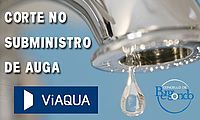 Corte no subminstro de auga potable, mércores, 21 de setembro: Concello Bergondo