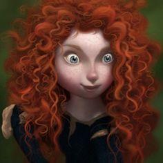 Pixar's Brave | Merida - Steve Pilcher