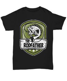 Perfect gift for a fisherman who loves the Godfather movies. Use/Wear this on your next fishing trip and even the fishes will laugh!