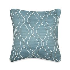 Buy MYOP Keyhole Square Throw Pillow Cover in Blue from Bed Bath & Beyond
