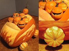 """Pumpkin Convertible"" by John C., Bronxville, NY"