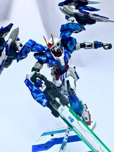 """Painted Build: MG 1/100 00 Raiser """"10 Years of 00"""" - Gundam Kits Collection News and Reviews"""